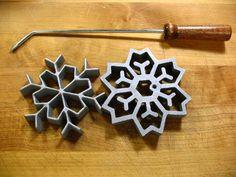 rosette iron ~ snowflake design from King Arthur Flour