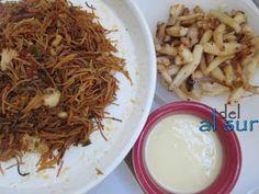 La cocina malagueña-Alsurdelsur: Fideos a la banda Cabbage, Pasta, Vegetables, Food, Soups, Rice, Meals, Bands, Essen