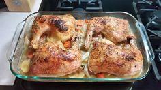 Lemon-Rosemary-Garlic Roasted Chicken Quarters Recipe - Food.com