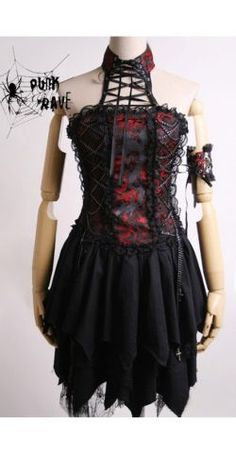 gothic dress love love I so want