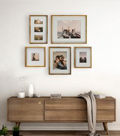 Spruce up your living room wall decor with this elegant photo frame. Buy picture frames for your photo wall at JOANN. Gallery Wall Layout, Gallery Wall Frames, Living Room Gallery Wall, Room Wall Decor, Rustic Wall Decor, Bedroom Decor, Interior Walls, Interior Design, Arrow Decor