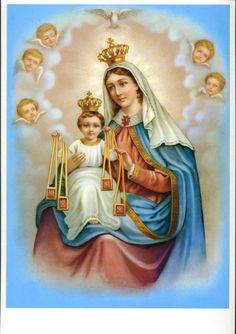 Jesus And Mary Pictures, Catholic Pictures, Jesus Son Of God, Mary And Jesus, Catholic Religion, Catholic Art, Blessed Mother Mary, Blessed Virgin Mary, Religious Images