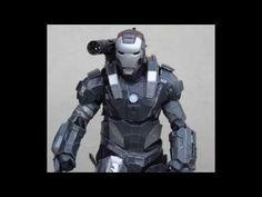 TUTORIAL Como crear tu cosplay armadura con pepakura en foam - YouTube