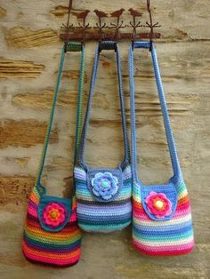 Not at all a recipe like the picture says. Links to the pattern for these bags.