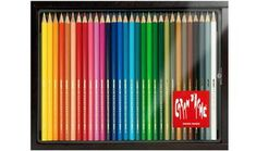 Caran d'Ache 12 Swisscolor + 12 Neocolor II Wax Crayons No 5 Brush & Paints Art Set Caran D'ache, Wax Crayons, Writing Instruments, Pencil, Colours, Painting, Draw, Ideas, Color Pencil Picture