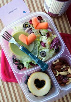 50 healthy work lunch ideas - FamilyFreshMeals.com - Valentine's  Salad