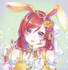 Nishikino Maki personagem do anime:Love Live Beautiful Anime Girl, Anime Girl Cute, Anime Art Girl, Anime Love, Anime Girls, Manga Kawaii, Anime Neko, Kawaii Girl, Chibi