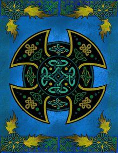 Celtic. Too heavy/dark for my taste for a tattoo, but interesting design