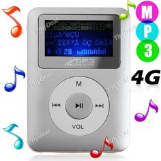 http://www.tinydeal.com/it/mini-lcd-display-mp3-music-player-%D1%81-4g-tf-memory-card-silvery-p-79578.html   Mini LCD Display Digital MP3 Player Music Player with 4G TF Memory Card