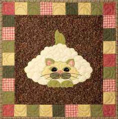 Garden Patch Cats: Caulipuss by Helene Knott