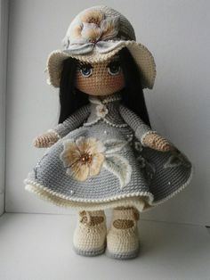 AMIGURUMI || Those Embroidered Flowers are absolutely gorgeous!!! [Putting on both boards!] ♥A