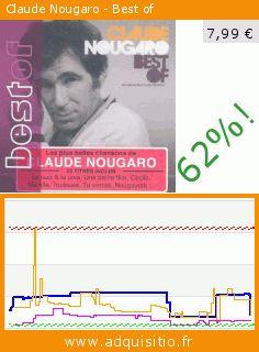 Claude Nougaro - Best of (CD). Réduction de 62%! Prix actuel 7,99 €, l'ancien prix était de 20,95 €. Par Claude Nougaro. https://www.adquisitio.fr/mercury-records/claude-nougaro-best-of