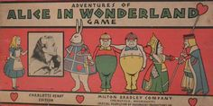 Here's Charlotte Henry again on the box of the Adventures of Alice in Wonderland Game.