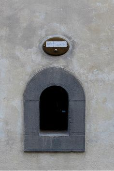 'Le Buchette del Vino' or Small Wine Doors of Florence, Italy