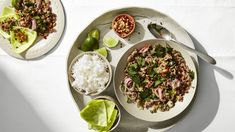 Larb with Cabbage Recipe | Bon Appetit