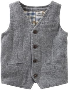 Osh Kosh Toddler Boy Suit Vest
