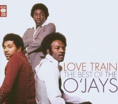 studded suede & sartorial swag: O'jays: Love Train: The Best of: cover
