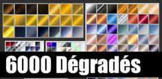 Télécharger plus de 6000 dégradé pour Adobe Photoshop