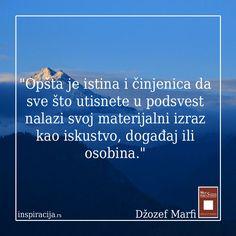#inspiracija Džozef Marfi: Moć podsvesti #mudrost #intuicija
