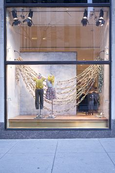 another anthropologie window display