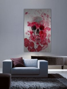 Skull 2 (Aluminum) by Parvez Taj... I have to have this!!