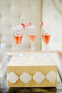 cute drink display http://www.weddingchicks.com/2014/01/07/lemiga-events-rebrand-partty/