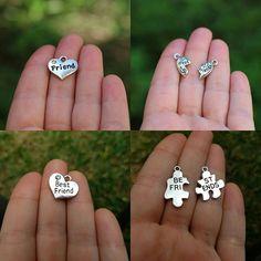 Something special for the bff👭 #bff #bestfriends #bestfriend #friendship #friends #charms #friendshipbracelet #jewelrydiy #friendgift