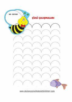 çizgi çalışmaları 1.sınıf Tracing Worksheets, Word Search, Words, Free, Kid, School, Horse