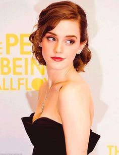 Emma Watson - classy and gorgeous. Love her!