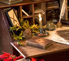 Ink:  Primitive writing desk. As primitive as it seems, it will be the first thing i'll buy, when i get enough for my book