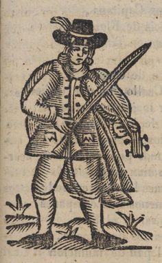 Un hombre tocando el violín.