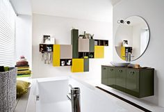 7 Ways to Add Color to your Bathroom Design | Bathroom Decor Ideas | Discover more at: www.homedecorideas.eu #interiordesign #homedecorideas #furnitureideas