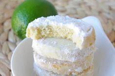 Biscuits fondants au citron vert de Martha Stewart