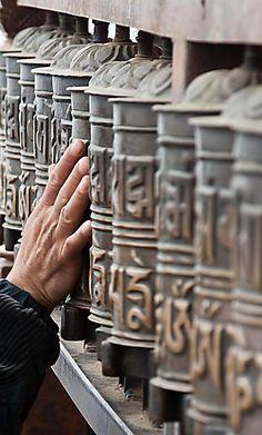 Prayer Wheels, Swayambhunath Stupa, Kathmandu, Nepal by jrodmanjr - Jason Rodman Nepal | Travel | Honeymoon | Backpack | Backpacking | Vacation South Asia | Budget | Off the Beaten Path | Trekking | Bucket List | Wanderlust | Things to Do and See | Culture | Food | Tourism | Like a Local | #travel #vacation #backpacking #budgettravel #offthebeatenpath #bucketlist #wanderlust #Nepal #Asia #southasia  #exploreNepal #visitNepal #seeNepal #discoverNepal #TravelNepal