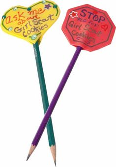pencil toppers craft - Activities for girls | Little Brownie Bakers