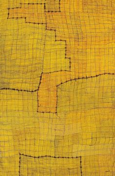 alfiusdebux:  Helen Tyalmuty McCarthy, Syaw [Fish Net], 2008. Acrylic on Linen, found at aboriginalartworld.com.au