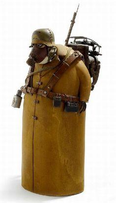 Bizarre Sculptures a la Steampunk - Stephane Halleux