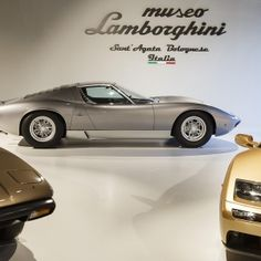 The new Lamborghini Museum has been unveiled at Bologna, Italy