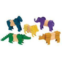 Block Mates®, Safari Animals, GD-7603