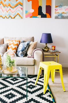 Alice Stephenson Adore magazine...we spy an ikea rug!