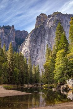 Beautiful Nature Photography of Yosemite National Park Us National Parks, Yosemite National Park, All Nature, Amazing Nature, Nature Water, Parque Natural, Photos Voyages, Image Hd, Nature Scenes