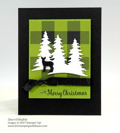 Stampin' Up! Star of Light stamp set and Card Front Builder Thinlits shared by Dawn Olchefske #dostamping