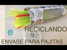Reciclar envase de patatas   Tic-Tac Truco