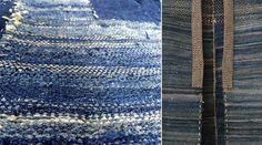 'sakiori' is een traditionele Japanse weeftechniek waarbij oude lappen worden gerecycled. Versleten kimono's werden in reepjes stof gesplitst en daarna teruggeweven in een prachtig nieuw textiel. Een ultieme vorm van recycling en bedacht vanuit de Mottanai denkwijze.