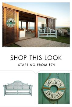 """""""Beach mansion part16; front beach yard"""" by kitkat1313 ❤ liked on Polyvore featuring interior, interiors, interior design, home, home decor, interior decorating and Safavieh"""