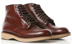 Alden for Blackbird | Brown Calf Skin Foss Tugger