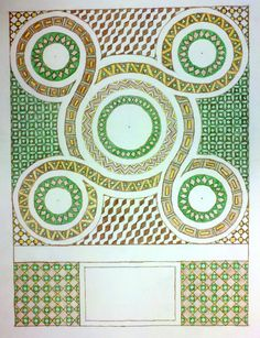Cosmati Patterns for a Church Floor designed by students from Thomas More College of Liberal Arts Principles Of Design Movement, Design Movements, Thomas More College, Byzantine Mosaics, Mosaic Floors, Floor Covering, Sacred Art, Floor Design, Tile Patterns