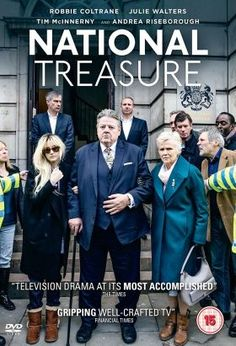 """National Treasure (2016) / Mini-Series / Ep. 4 / Stars: Robbie Coltrane, Julie Walters, Andrea Riseborough / Paul Finchley is a bona fide """"national treasure"""", one half of a popular, long-running comedy double act. However, the famous comedian's world is thrown into chaos when he is accused of historic sexual abuse"""
