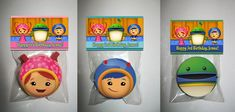 Team Umizoomi Personalized Chocolate Covered Oreo Cookie Favor | PartiesRPersonal - Edibles on ArtFire