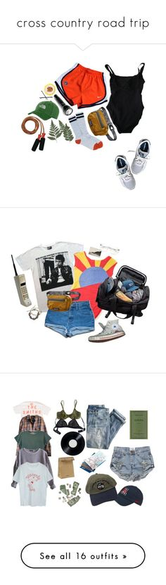 """cross country road trip"" by riz-zy ❤ liked on Polyvore featuring NIKE, Eres, Patagonia, The North Face, New Balance, Goody, Converse, Zayiana, Wildfox and Opening Ceremony"